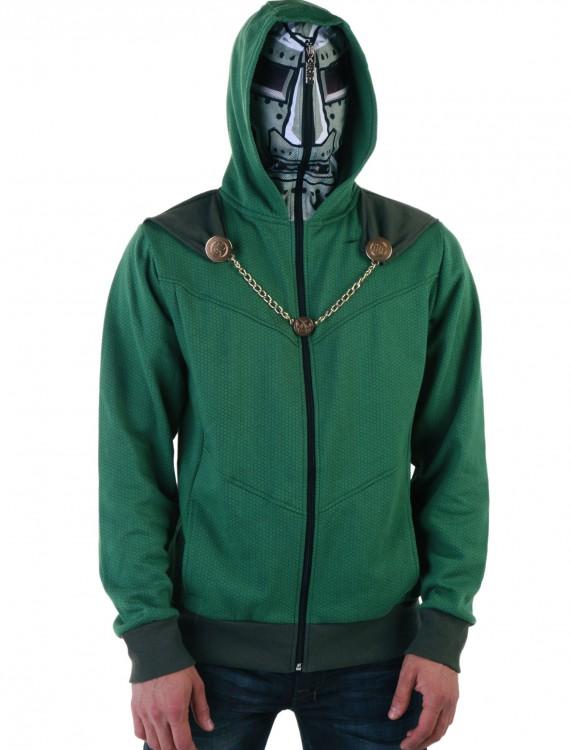 Doctor Doom Hoodie, halloween costume (Doctor Doom Hoodie)
