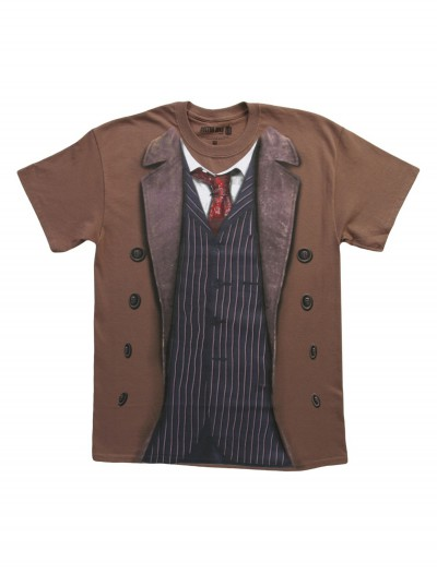 Doctor Who 10th Doctor Costume T-Shirt, halloween costume (Doctor Who 10th Doctor Costume T-Shirt)