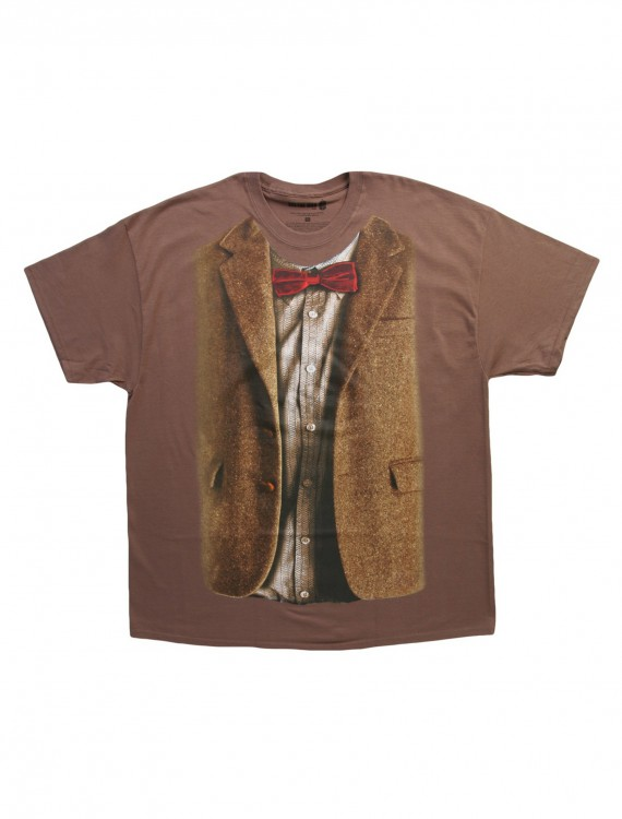 Doctor Who 11th Doctor Costume T-Shirt, halloween costume (Doctor Who 11th Doctor Costume T-Shirt)
