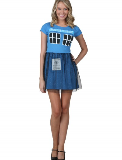 Doctor Who Tardis Ballerina Dress, halloween costume (Doctor Who Tardis Ballerina Dress)