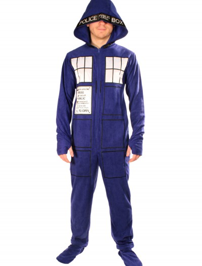 Doctor Who: Adult Tardis Pajamas, halloween costume (Doctor Who: Adult Tardis Pajamas)