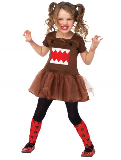 Domo Brown Tutu Child Dress, halloween costume (Domo Brown Tutu Child Dress)