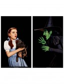 Dorothy and Wicked Witch Window Cling, halloween costume (Dorothy and Wicked Witch Window Cling)