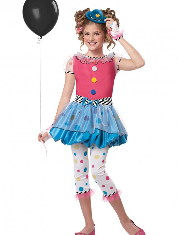 Dotsy Clown Costume, halloween costume (Dotsy Clown Costume)