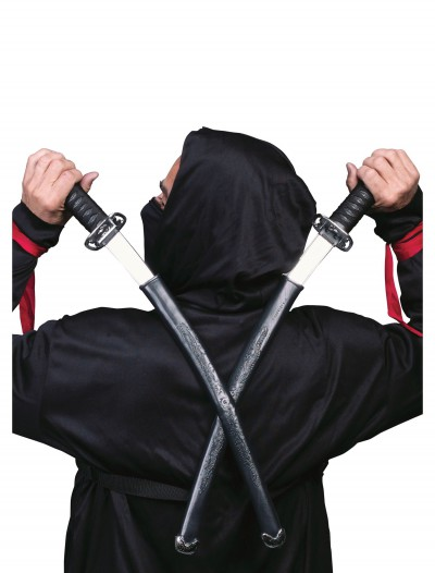Double Ninja Swords, halloween costume (Double Ninja Swords)
