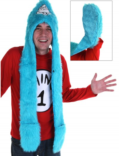 Dr Seuss Thing 1 Snood, halloween costume (Dr Seuss Thing 1 Snood)