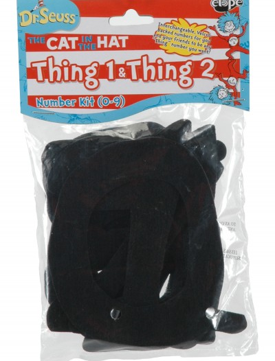 Dr. Seuss Thing Numbers 0-9, halloween costume (Dr. Seuss Thing Numbers 0-9)