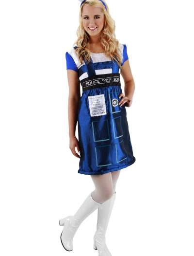 Dr. Who TARDIS Dress, halloween costume (Dr. Who TARDIS Dress)