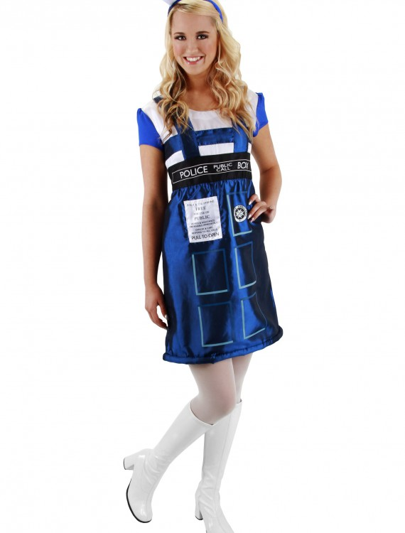 Dr. Who TARDIS Dress, halloween costume (Dr. Who TARDIS Dress)