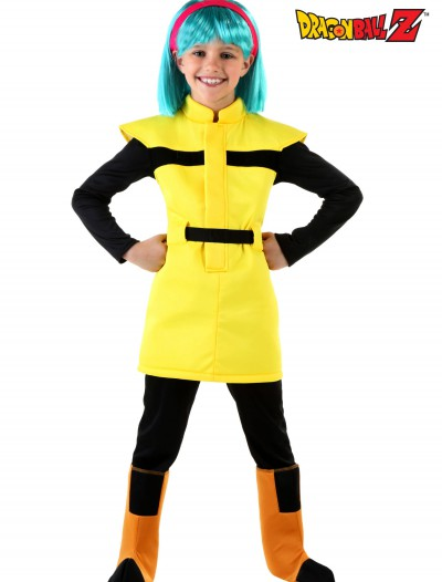 Dragon Ball Z Child Bulma Costume, halloween costume (Dragon Ball Z Child Bulma Costume)