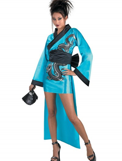 Dragon Geisha Girl Costume, halloween costume (Dragon Geisha Girl Costume)