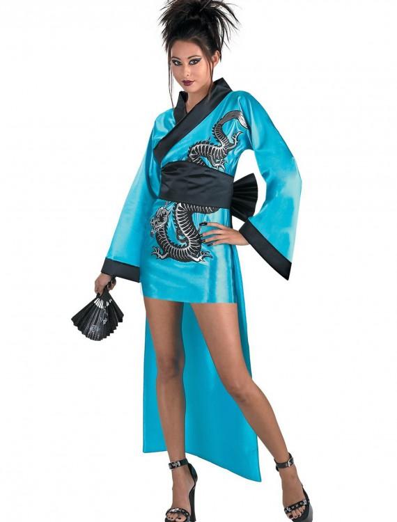 Dragon Geisha Girl Costume, halloween costume (Dragon Geisha Girl Costume)