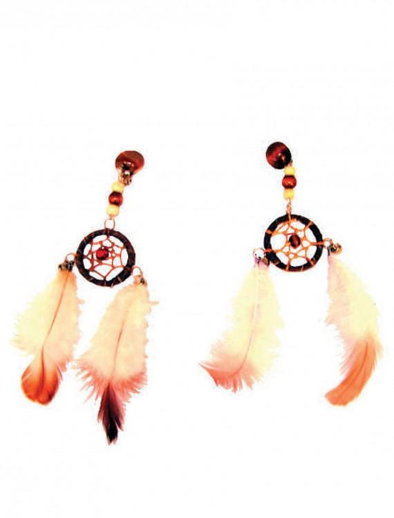 Dream Catcher Earrings, halloween costume (Dream Catcher Earrings)