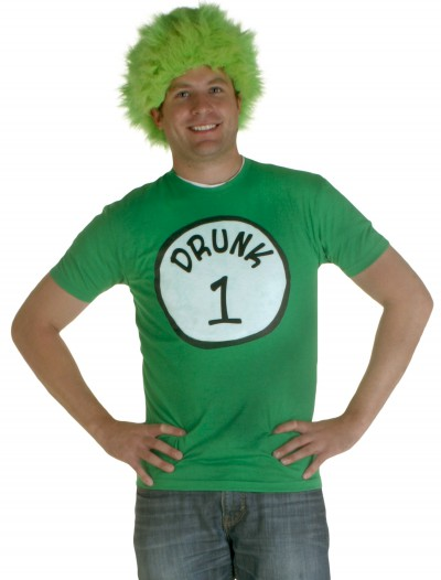 Drunk 1 Costume T-Shirt, halloween costume (Drunk 1 Costume T-Shirt)