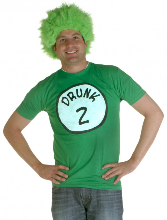 Drunk 2 Costume T-Shirt, halloween costume (Drunk 2 Costume T-Shirt)
