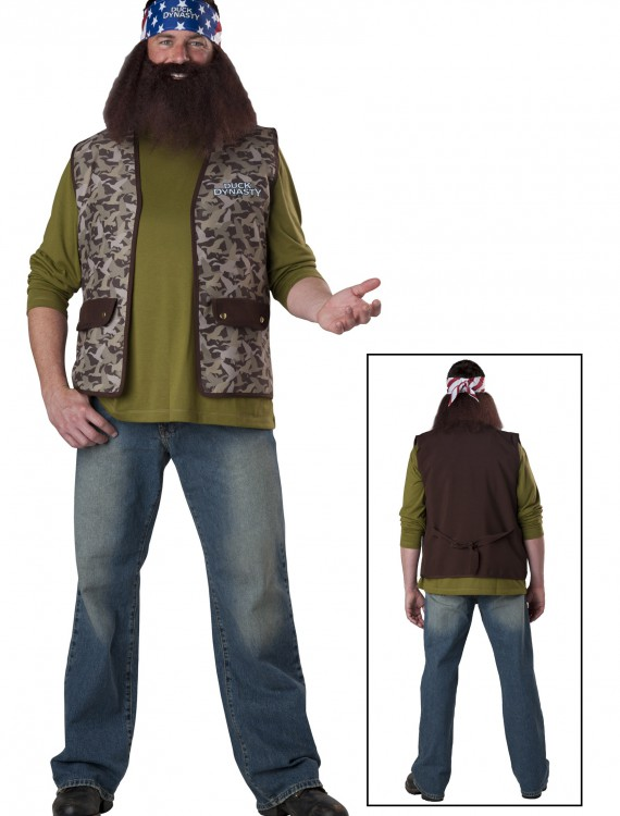 Duck Dynasty Willie Costume, halloween costume (Duck Dynasty Willie Costume)