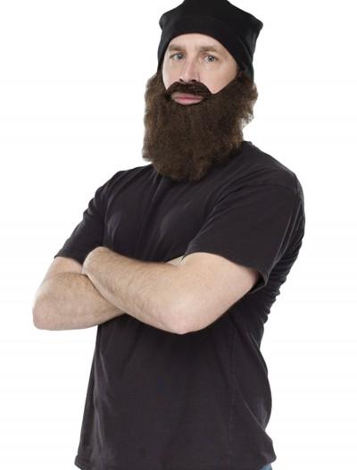Duck Hunting Cap Brown Beard Kit, halloween costume (Duck Hunting Cap Brown Beard Kit)