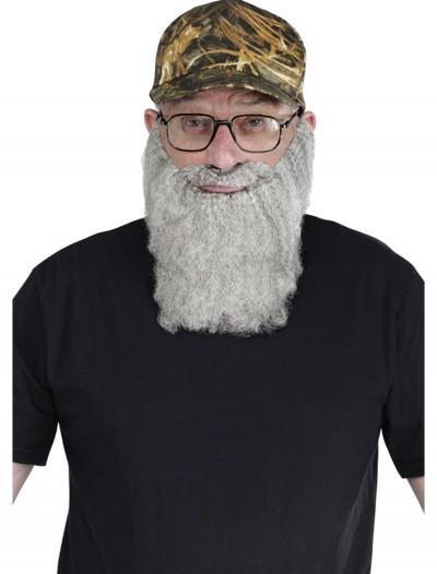 Duck Hunting Hat Grey Beard Kit, halloween costume (Duck Hunting Hat Grey Beard Kit)