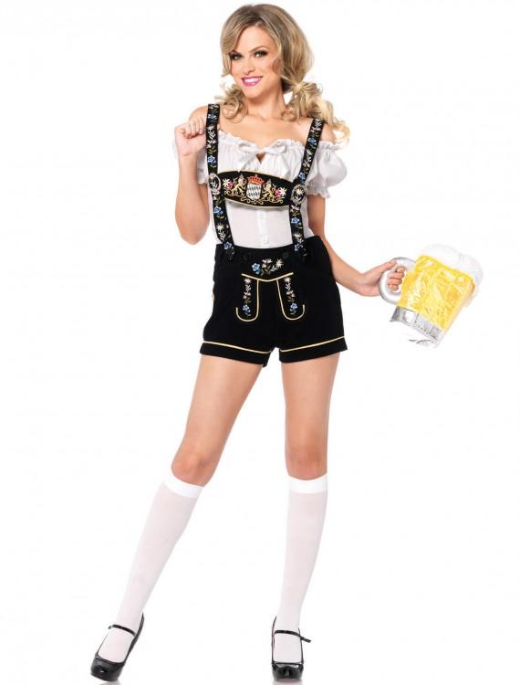 Edelweiss Lederhosen Adult Costume, halloween costume (Edelweiss Lederhosen Adult Costume)