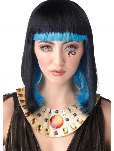 Egyptian Sapphire Wig, halloween costume (Egyptian Sapphire Wig)