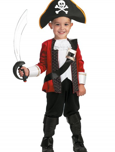 El Capitan Child Pirate Costume, halloween costume (El Capitan Child Pirate Costume)
