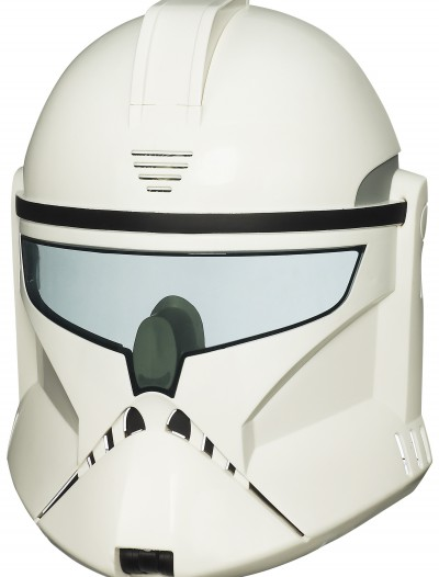 Electronic Clone Trooper Helmet, halloween costume (Electronic Clone Trooper Helmet)