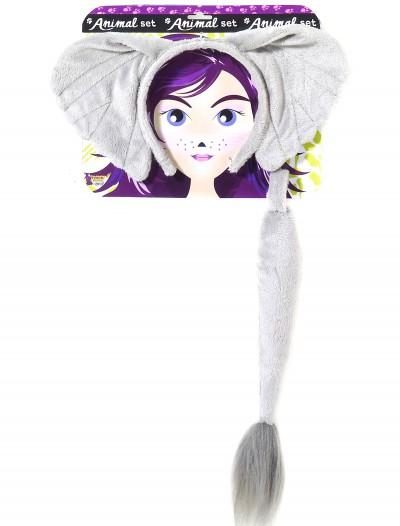 Elephant Ears and Tail Kit, halloween costume (Elephant Ears and Tail Kit)