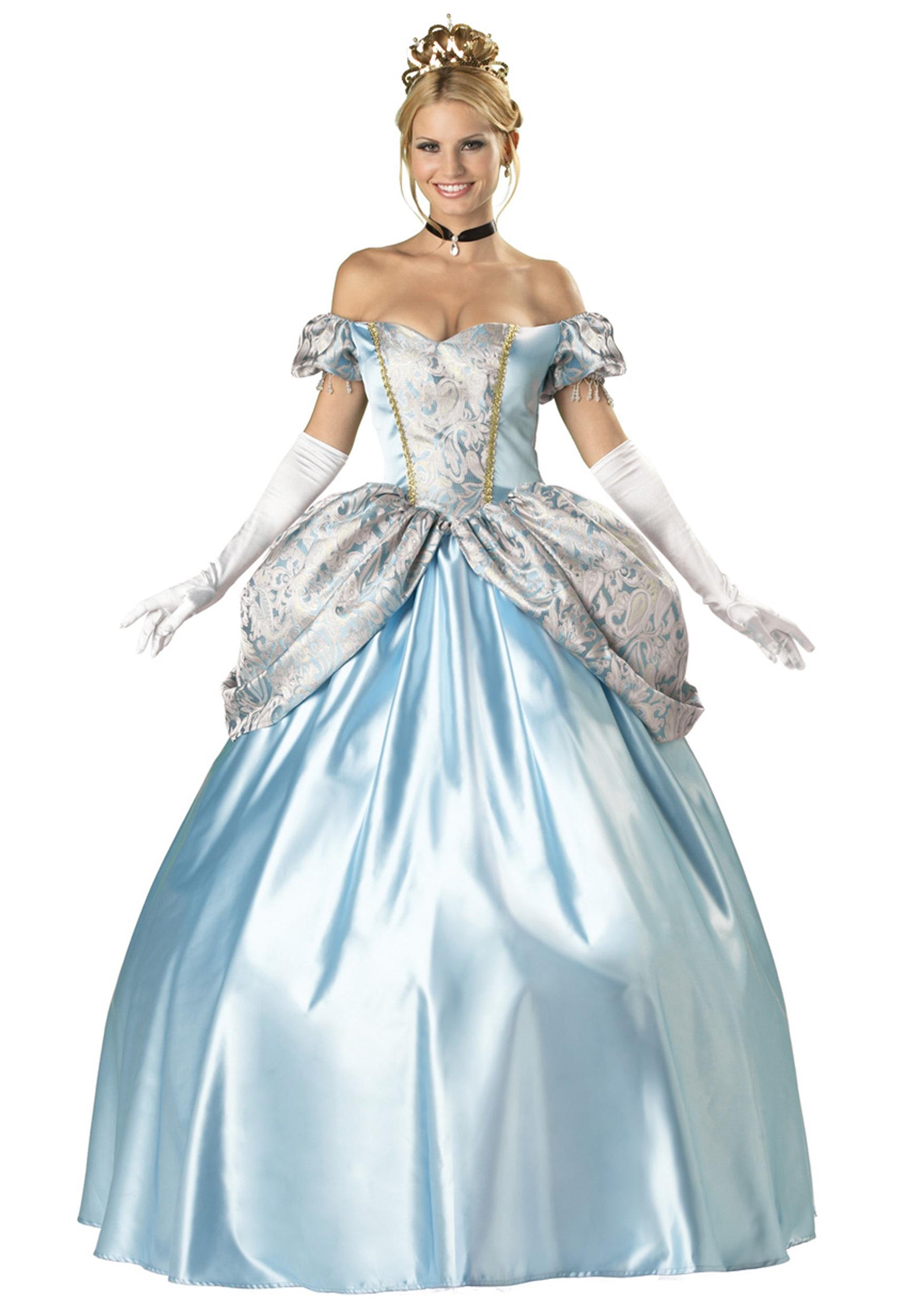 Elite Enchanting Princess Costume - Halloween Costumes