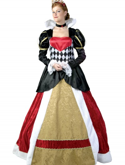 Elite Queen of Hearts Costume, halloween costume (Elite Queen of Hearts Costume)