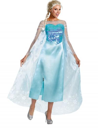 Elsa Adult Deluxe Costume, halloween costume (Elsa Adult Deluxe Costume)