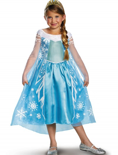 Elsa Deluxe Frozen Costume, halloween costume (Elsa Deluxe Frozen Costume)
