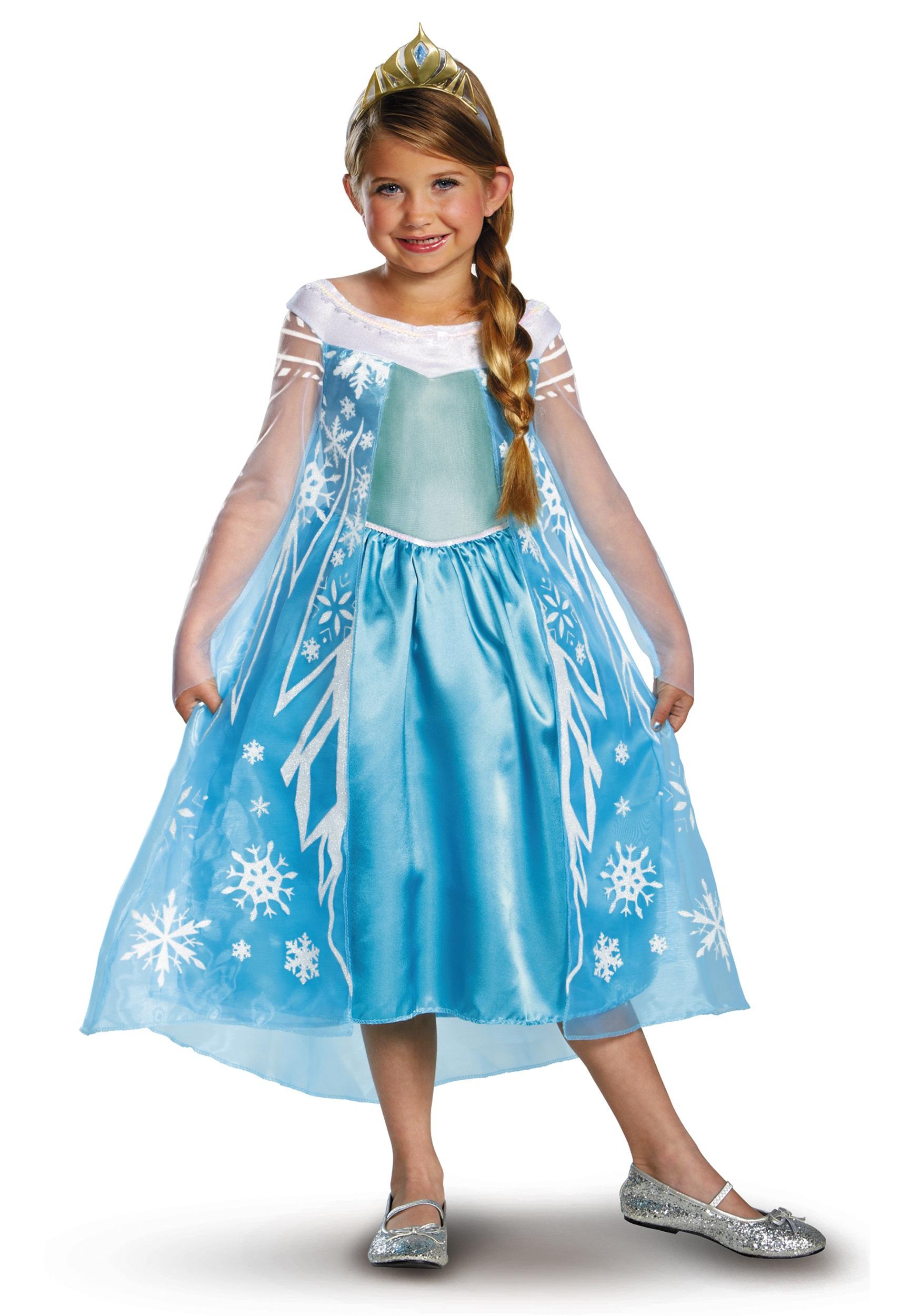 Elsa Deluxe Frozen Costume  sc 1 st  Halloween Costumes & Elsa Deluxe Frozen Costume - Halloween Costumes