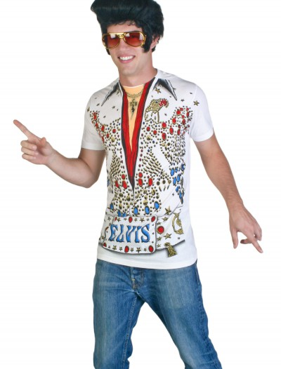 Elvis Presley Eagle Jumpsuit Costume T-Shirt, halloween costume (Elvis Presley Eagle Jumpsuit Costume T-Shirt)