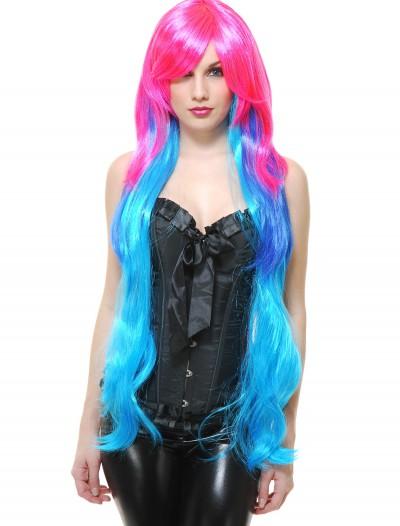 Enchanted Mermaid Wig, halloween costume (Enchanted Mermaid Wig)
