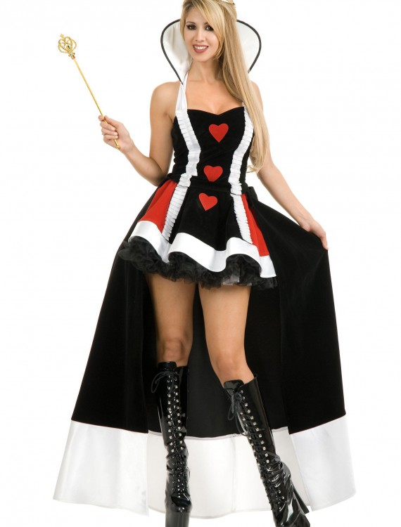 Enchanting Queen of Hearts Costume, halloween costume (Enchanting Queen of Hearts Costume)