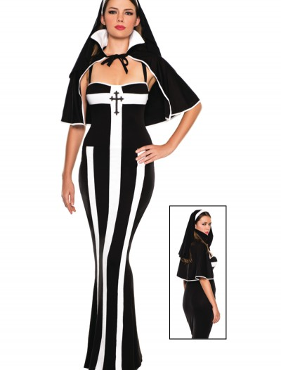 Erotic Deluxe Nun Costume, halloween costume (Erotic Deluxe Nun Costume)