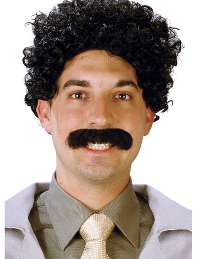 Eurasian Traveler Wig and Moustache, halloween costume (Eurasian Traveler Wig and Moustache)
