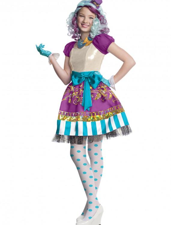 Ever After High Girls Madeline Hatter Costume, halloween costume (Ever After High Girls Madeline Hatter Costume)