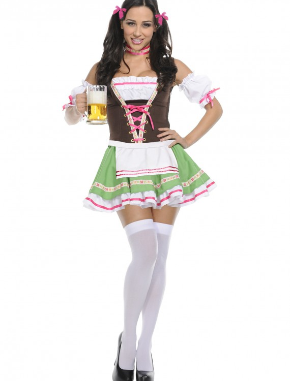 Exclusive Deluxe German Girl Costume, halloween costume (Exclusive Deluxe German Girl Costume)