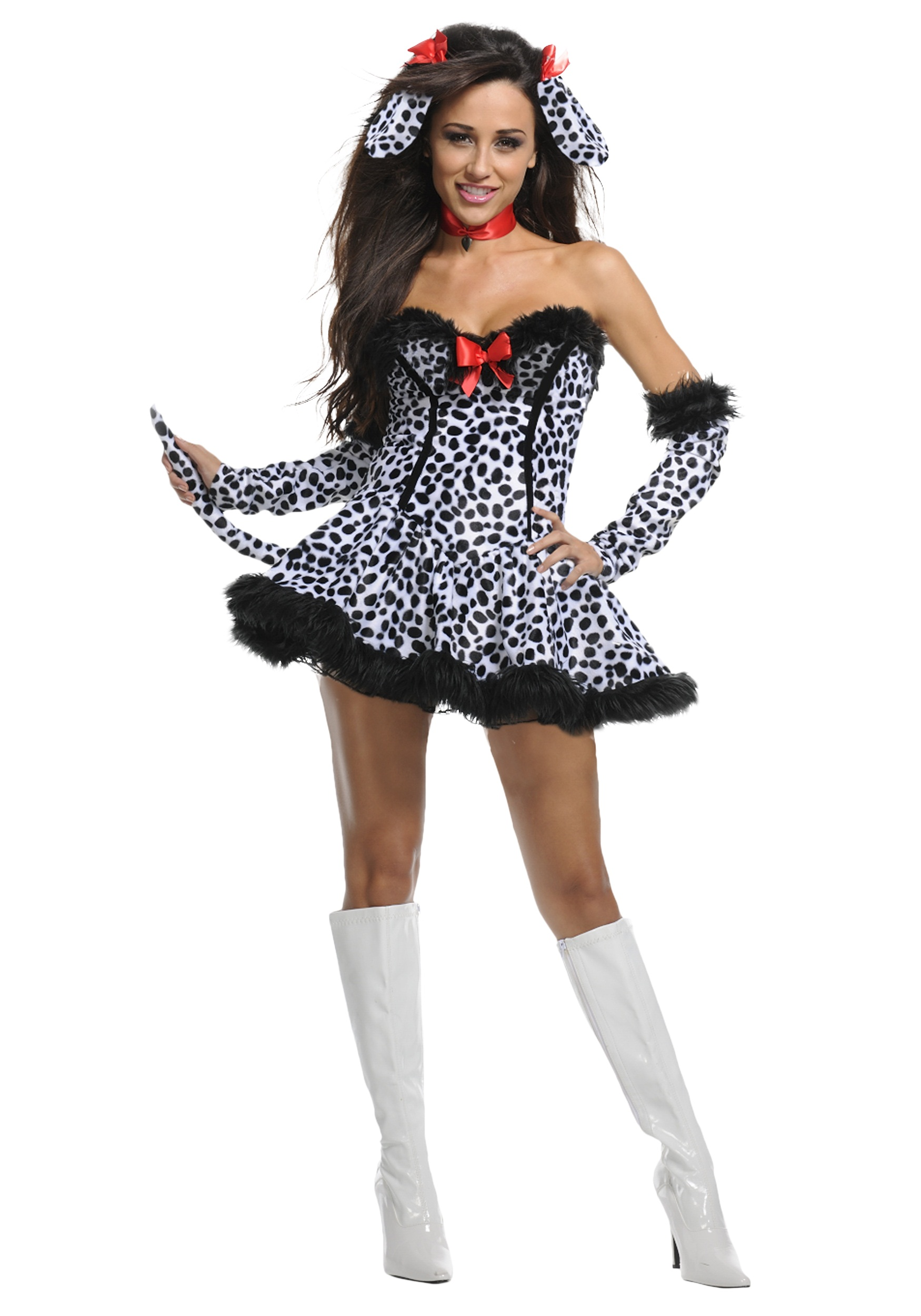 Exclusive Sexy Dalmatian Costume  sc 1 st  Halloween Costumes & Exclusive Sexy Dalmatian Costume - Halloween Costumes