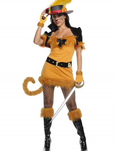 Exclusive Sexy Feline Musketeer Costume, halloween costume (Exclusive Sexy Feline Musketeer Costume)