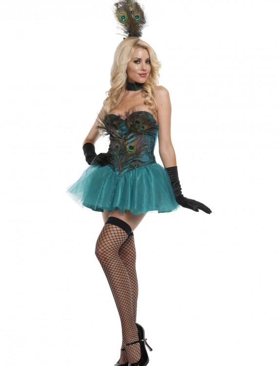 Exclusive Sexy Peacock Costume, halloween costume (Exclusive Sexy Peacock Costume)
