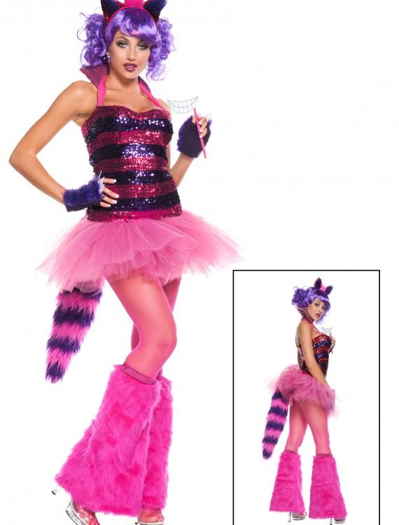 Exclusive Sexy Sequin Cheshire Cat Costume, halloween costume (Exclusive Sexy Sequin Cheshire Cat Costume)