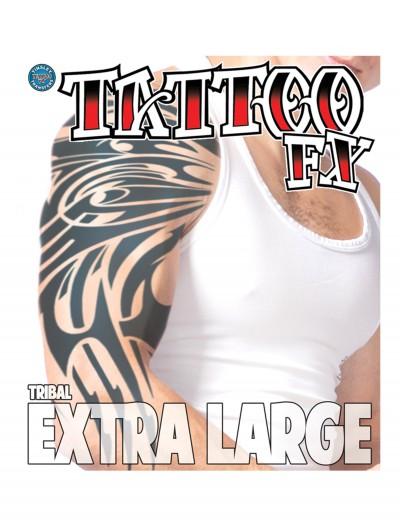 Extra Large Tribal Temporary Tattoo, halloween costume (Extra Large Tribal Temporary Tattoo)
