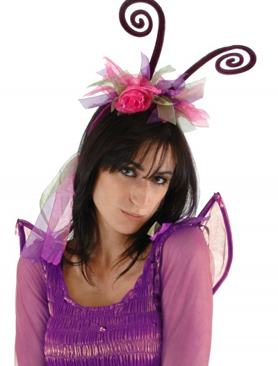 Purple Fairy Antenna Headband, halloween costume (Purple Fairy Antenna Headband)