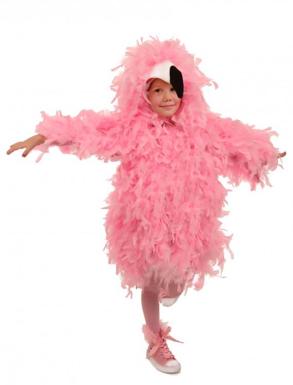 Fancy Flamingo Costume, halloween costume (Fancy Flamingo Costume)