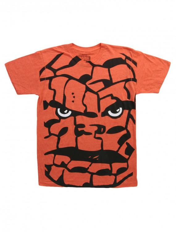Fantastic Four Big Head Thing TShirt, halloween costume (Fantastic Four Big Head Thing TShirt)