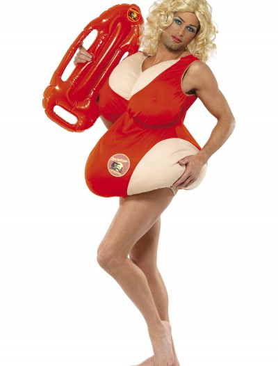 Fat Baywatch Lifeguard Costume, halloween costume (Fat Baywatch Lifeguard Costume)
