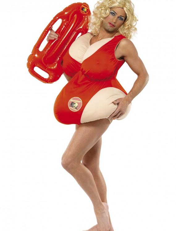 Fat Baywatch Lifeguard Costume, halloween costume (Fat Baywatch Lifeguard Costume)
