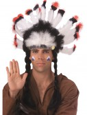 Feathered American Indian Headdress, halloween costume (Feathered American Indian Headdress)